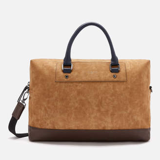 Men's Pitza Nubuck Document Bag