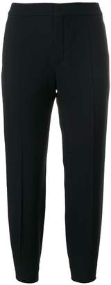 Chloé cropped slim fit trousers