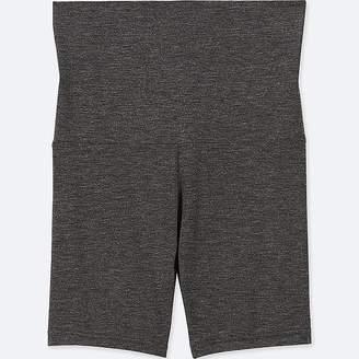 Uniqlo Women's Heattech Shorts With Waist Warmer (online Exclusive)