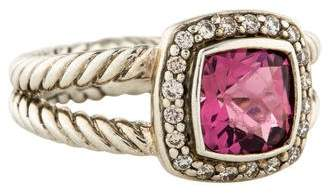 David Yurman Tourmaline & Diamond Petite Albion Ring