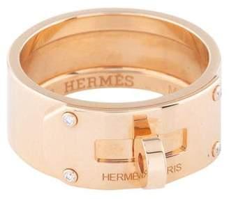 Hermes Diamond Kelly Ring