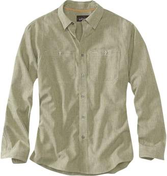 Fly London Orvis Tech Chambray Work Shirt - Men's