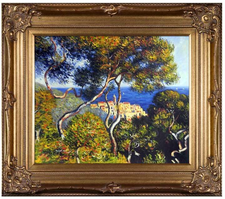 Overstock Art Bordighera by Claude Monet (Framed Canvas)