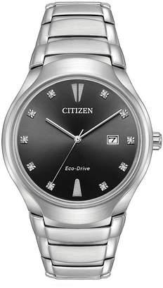 Citizen Mens Silver Tone Bracelet Watch-Aw1550-50e