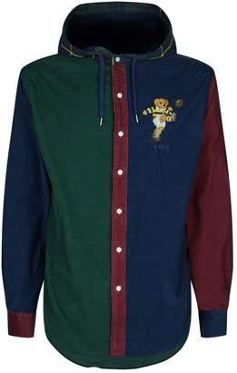 Polo Ralph Lauren Rugby Bear Colour Block Shirt