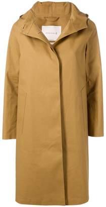 MACKINTOSH Autumn Bonded Cotton Hooded Coat