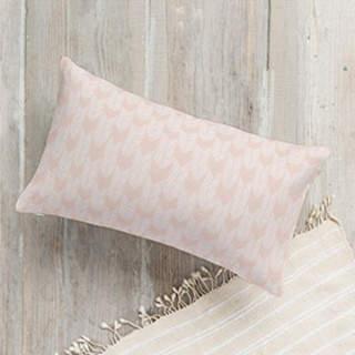 The Herringbone Stack Lumbar Pillow