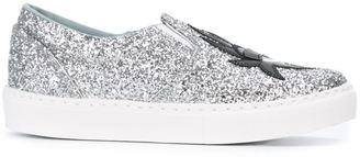 Chiara Ferragni 'Flirting' slip-on sneakers $329.50 thestylecure.com