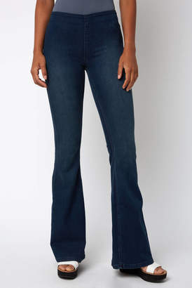 Free People Pull On Flare Jean