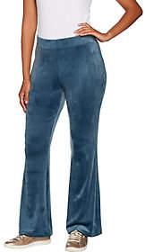Anybody AnyBody Loungewear Petite Velour Flare Pants