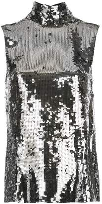 Tibi sequins embellished blouse
