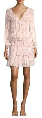 LoveShackFancy Popover Floral Tunic Dress