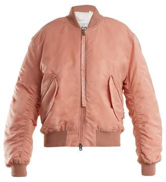 Acne Studios Clea Padded Bomber Jacket - Womens - Pink