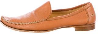 Bottega VenetaBottega Veneta Leather Pointed-Toe Loafers