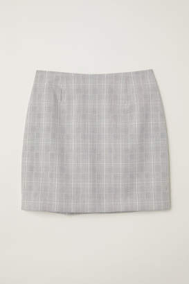 H&M Fitted Skirt - Gray