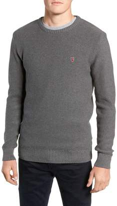 Knowledge Cotton Apparel Owl Textured Sweater