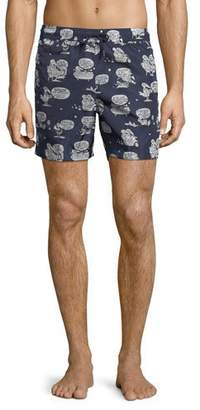 Moncler Boxer Mare Swim Trunks
