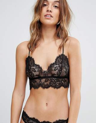 Weekday Lace Crop Soft Bra