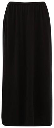 Gabriela Hearst Sasha Cashmere Midi Skirt - Womens - Black
