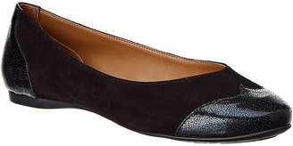 French Sole Carole Suede Flat