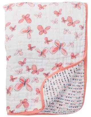 Aden Anais aden by aden + anais Butterflies A Flutter Muslin Blanket