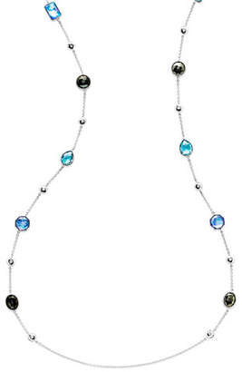 """Ippolita 925 Rock Candy® Medium-Station Necklace in Eclipse, 42""""L"""