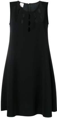 Pinko cut out detail shift dress