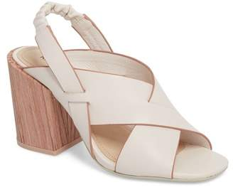 Kelsi Dagger Brooklyn Mazy Leather Block Heel Sandal