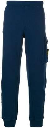 Stone Island cargo pocket detail track pants