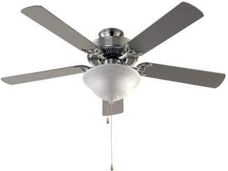 Three Posts Hamlett 5 Blade Ceiling Fan, Light Kit Included