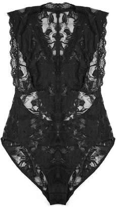 Black Label Eartha Mock Neck Bodysuit