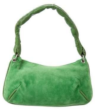 Bottega Veneta Suede Leather-Trimmed Bag