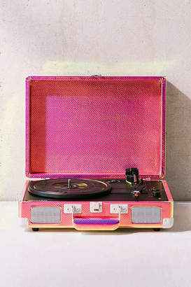 Crosley UO Exclusive Rainbow Holographic Cruiser Bluetooth Record Player