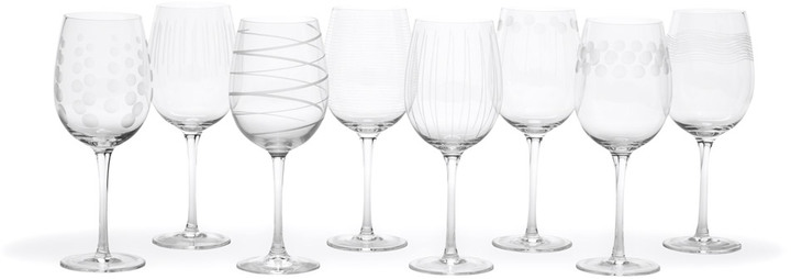 Mikasa Cheers White Wine Glasses, Set of 8