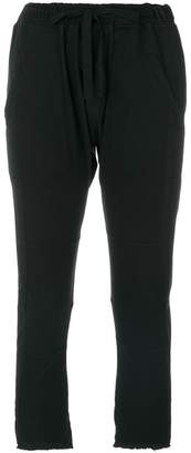 Haider Ackermann cropped jogging trousers