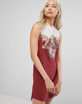 AllSaints Jay Clement Dress In Silk