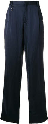Y/Project Y / Project rivet detail wide trousers