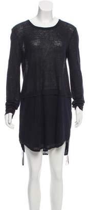 A.L.C. Linen Long-Sleeve Dress