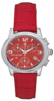 Swiss Military Hanowa Women's 06-6000-04-004 Red Dreamland Chronograph Date Watch