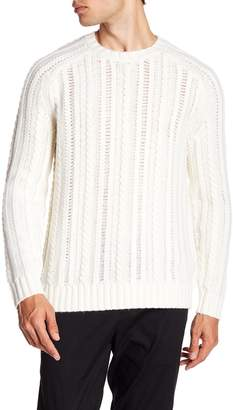Vince Cable Knit Wool-Cashmere Pullover