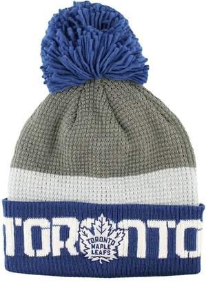 Reebok Toronto Maple Leafs Cuffed Pom Knit Toque