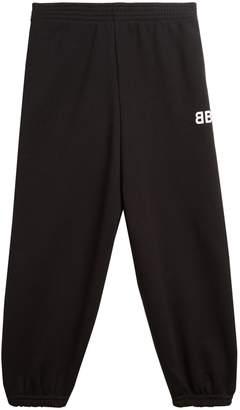 Balenciaga KIDS Unisex cotton-blend track pants