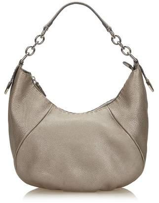 561f0a41011 at Orchard Mile · Fendi Vintage Selleria Leather Chain Hobo Bag