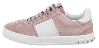 Valentino Flycrew Suede Sneakers w/ Tags