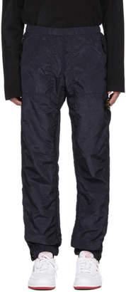 Stone Island Navy Logo Badge Track Pants