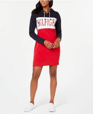 Tommy Hilfiger Hooded Sweatshirt Dress