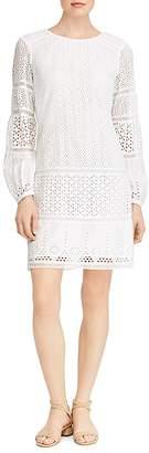Lauren Ralph Lauren Mixed-Lace Sheath Dress