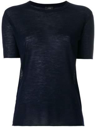 Joseph short-sleeve cashmere jumper