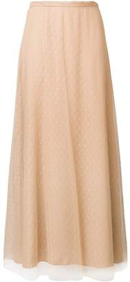 RED Valentino tulle layer a-line skirt