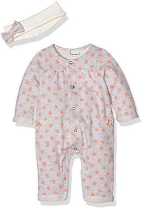 3 Pommes Baby Girls 0-24m Sweet Coral Romper,(Manufacturer Size:1/3 Months)